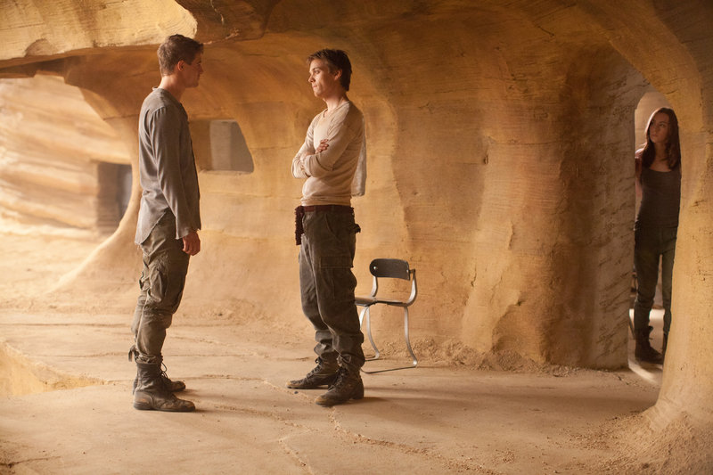 """Max Irons, Jake Abel and Saoirse Ronan star in the sci-fi thriller """"The Host."""""""