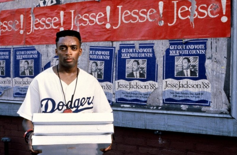 "Spike Lee in ""Do the Right Thing."""
