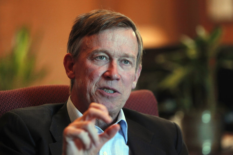 Colorado Gov. John Hickenlooper called on county sheriffs to carry out new gun-control measures.