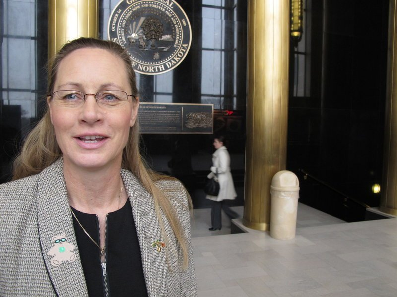 Rep. Bette Grande, a Republican from Fargo, introduced two of the three tough anti-abortion bills signed into law in North Dakota on Tuesday.