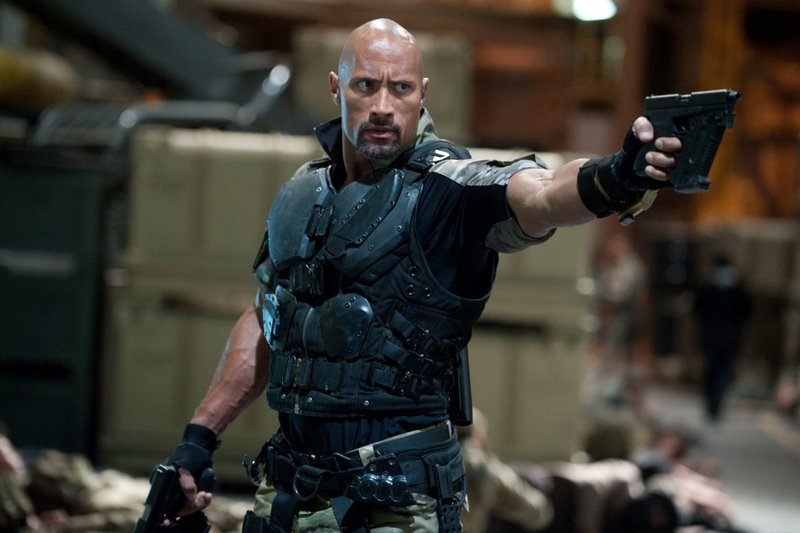 "Dwayne Johnson stars in ""G.I. Joe: Retaliation."""