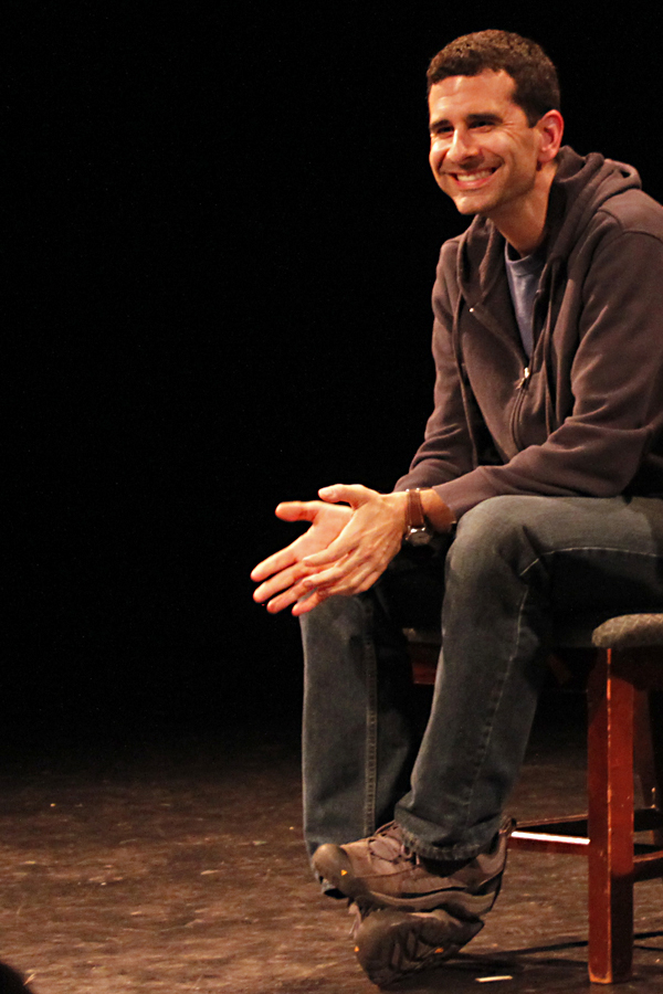 "Cariani also collaborated with Portland Stage on his plays ""Almost, Maine"" and ""Last Gas."""