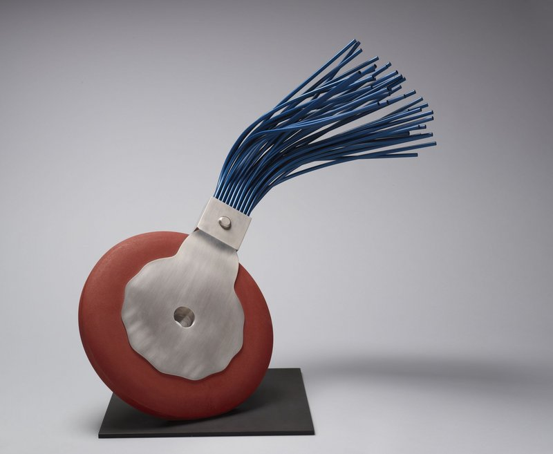 "The Lunder collection includes ""Typewriter Eraser"" by Claes Oldenburg, 1977."