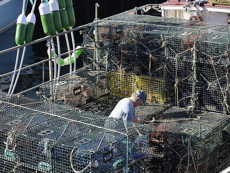 Maine's traditionally independent lobster fishermen have been known to organize in tough times.