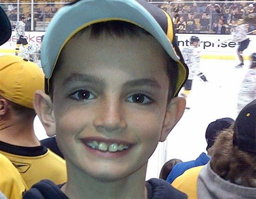 Martin Richard, 8, was among the three people killed in the explosions at the finish line of the Boston Marathon on April 15, 2013.