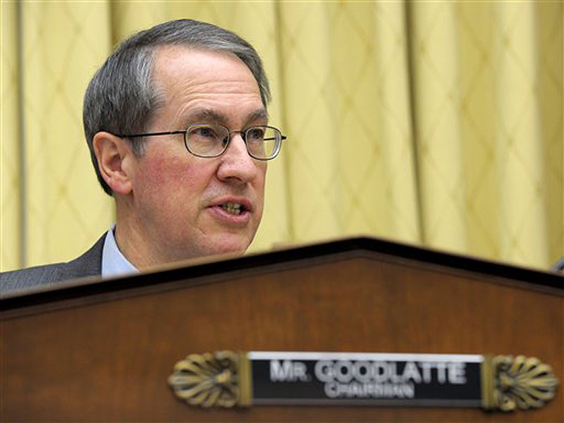 Rep. Bob Goodlatte, R-Va., says the two bills he will propose this week – and several more after that – are just starting points for debate on immigration.