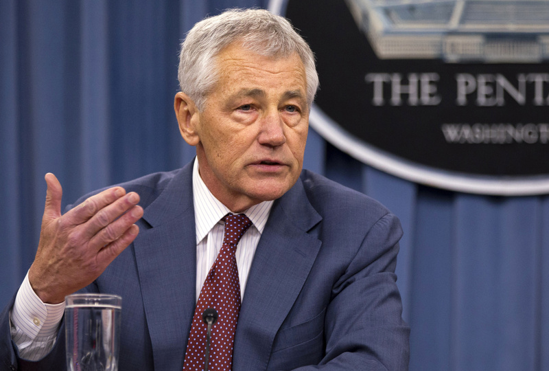 Defense Secretary Chuck Hagel said Thursday that U.S. intelligence has concluded that the Syrian government has used sarin gas as a weapon in its two-year-old civil war.