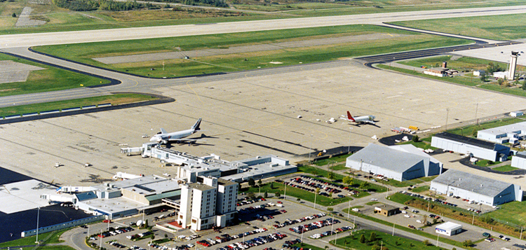 Bangor is either the first or last U.S. airport for trans-Atlantic flights that need to land due to emergencies, poor weather conditions or for other reasons.