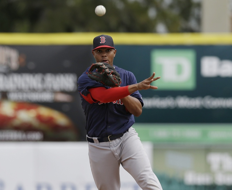 Xander Bogaerts, who will start the season with the Sea Dogs, is open to a position change – some feel he's too big to remain a shortstop – but the Red Sox have made it clear short is where he'll be.
