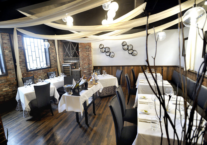 David's Opus Ten features a dining area that has a few awkward seating spots, but that's a minor detraction for a restaurant with an excellent fixed-price menu.