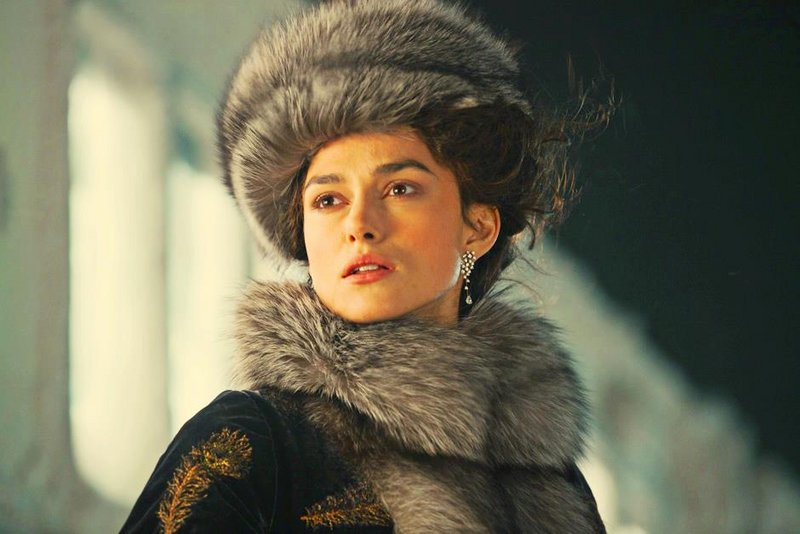 "Keira Knightley in the 2012 adaptation of ""Anna Karenina,"" Sunday's featured film at the York Public Library."