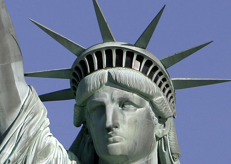 "The Statue of Liberty has come to represent the promise of a better life for the nation's immigrants. ""For more than 500 years, people have been immigrating to this part of the world. The flow has never and will never stop,"" a reader says."
