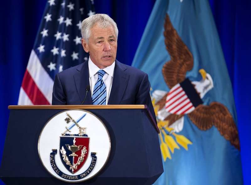 Chuck Hagel labeled North Korea a clear danger to U.S. allies in the region.