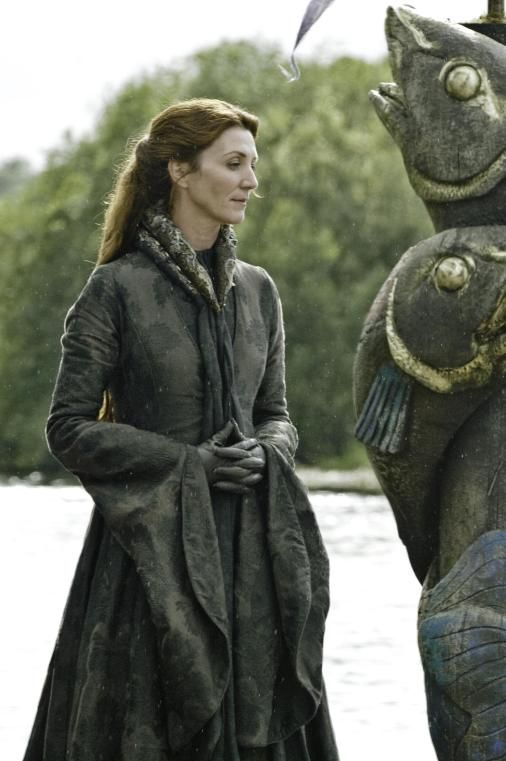 "Michelle Fairley plays House Stark matriarch Catelyn Stark in ""Game of Thrones."""