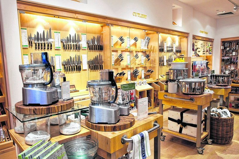 A Williams-Sonoma store is shown in Corte Madera, Calif. Chains are selling more high-tech specialty appliances, partly as a result of consumers making healthy foods for their families.