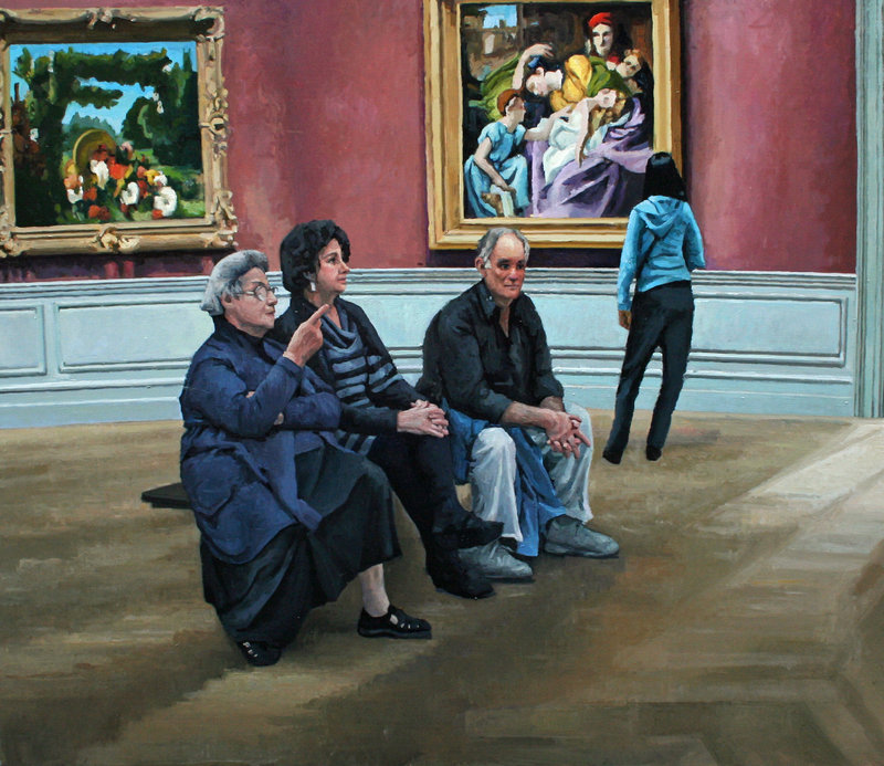 """""""The Met"""" by Judy Taylor from """"Go Figure"""""""