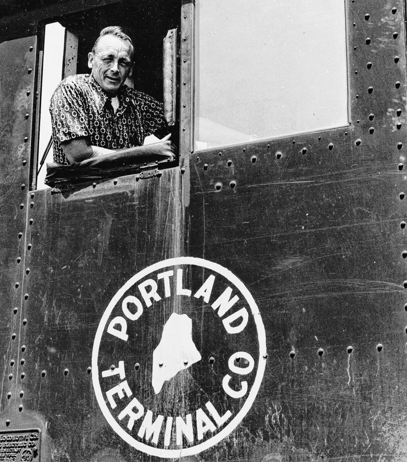 Harold Erickson was an engineer for the former Maine Central Railroad. Mr. Erickson died Wednesday at age 84.