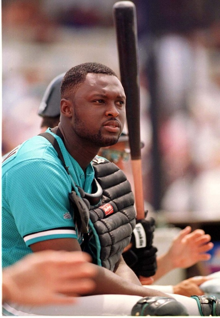 Charles Johnson, on his way to a 12-year career in the major leagues, had a memorable season with the first-year Sea Dogs, leading the Eastern League with 28 home runs.