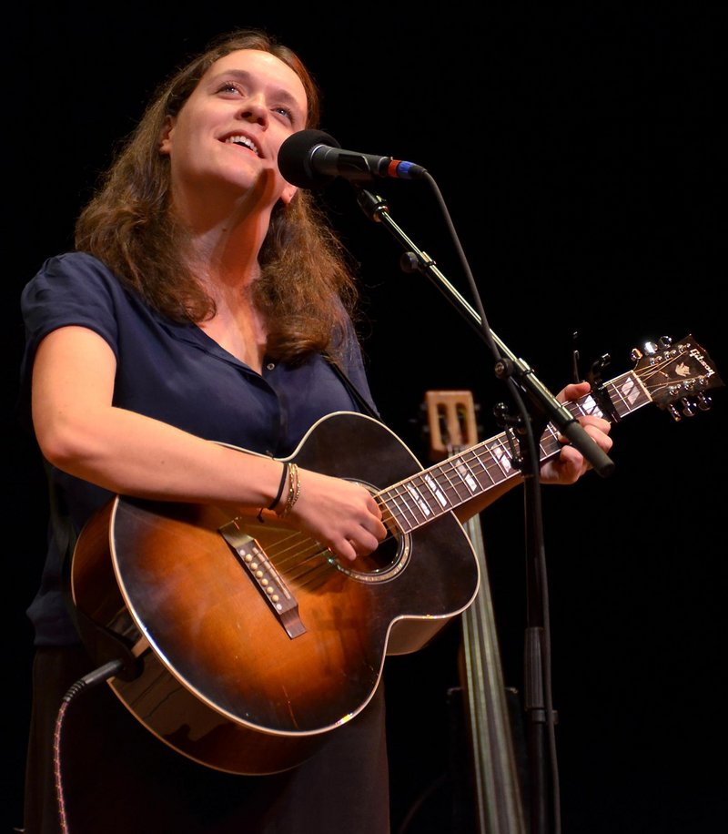 Singer-songwriter Lucy Wainwright Roche will perform for free Thursday as part of the Waltzing for Dreamers Free Music Series at the Stone Mountain Arts Center in Brownfield.