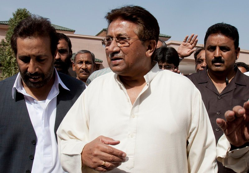 Pakistan's former president and military ruler, Pervez Musharraf, had returned from exile hoping to return to politics. But those hopes now seem in doubt.