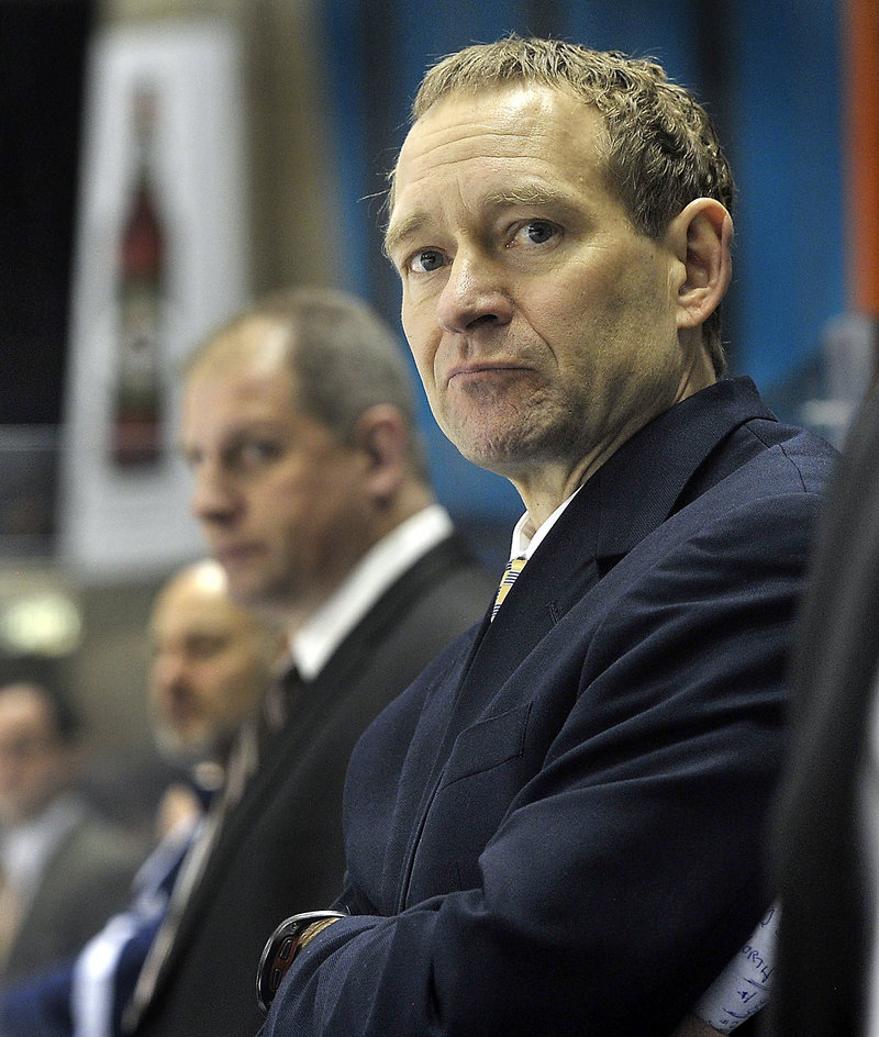 The University of Maine made a mistake by firing hockey coach Tim Whitehead, a reader says.