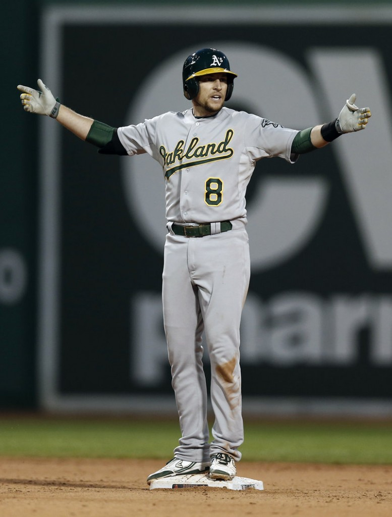 Jed Lowrie, a former member of the Portland Sea Dogs, is off to a strong start with the Oakland A's, and hoping to avoid the injuries that have dogged his career.