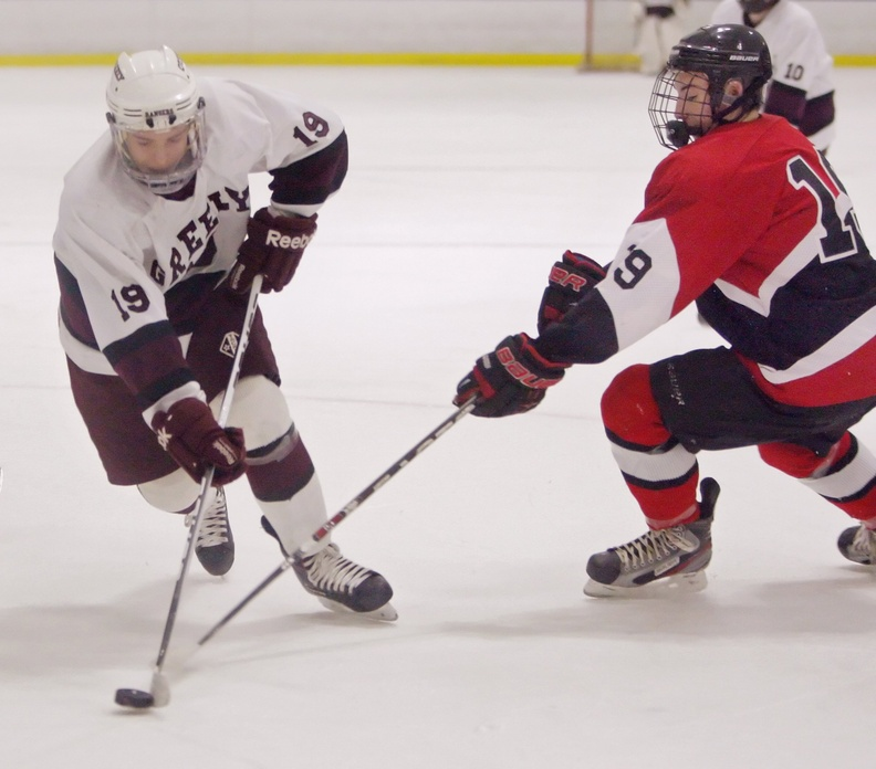 Ted Hart carries on a family tradition of hockey excellence, scoring 35 goals while leading Greely to its second Class B title and winning the Telegram's player of the year award.