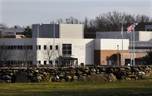 This Dec. 5, 2011 file photo shows the Devens Federal Medical Center (FMC) in Devens, Mass., where Boston bomb suspect Dzhokhar Tsarnaev is being held. (AP Photo/Elise Amendola, File)