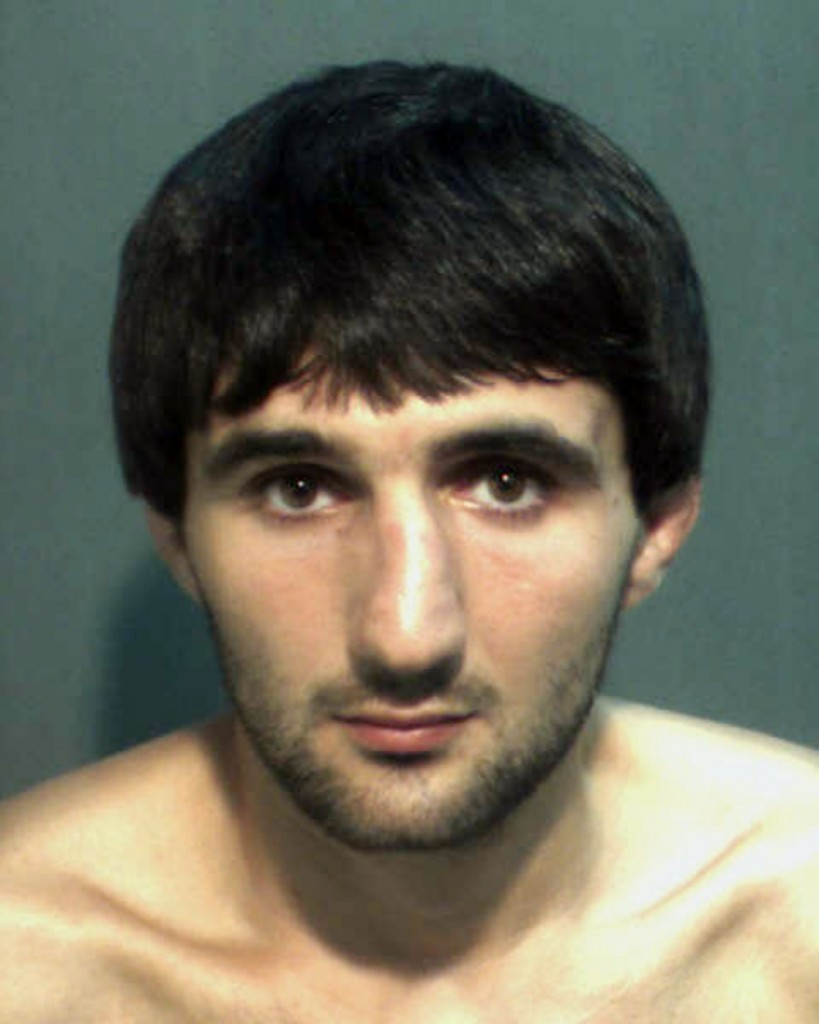 This May 4 police photo provided by the Orange County Corrections Department in Orlando, Fla., shows Ibragim Todashev after his arrest on a charge of aggravated battery.