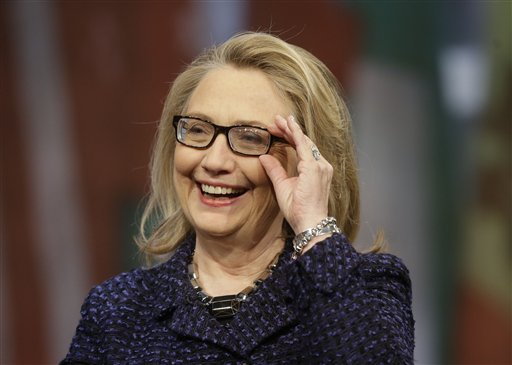 A former secretary of state, senator from New York and first lady, Hillary Clinton hasn't commented on any future political plans since she stepped down from her diplomatic post early this year.