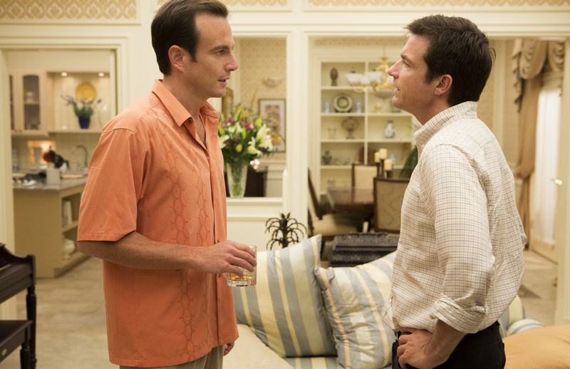 Will Arnett, left, and Jason Bateman in a scene from