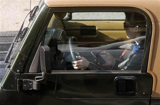After initially fighting laws against cellphone use while driving, cellphone companies have begun to embrace the language of the federal government's campaign against cellphone use by drivers.