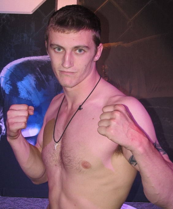 Andrew Tripp of Waterboro wants to take MMA fighting to the limit, but says he's prudent enough to take it at a sensible pace.