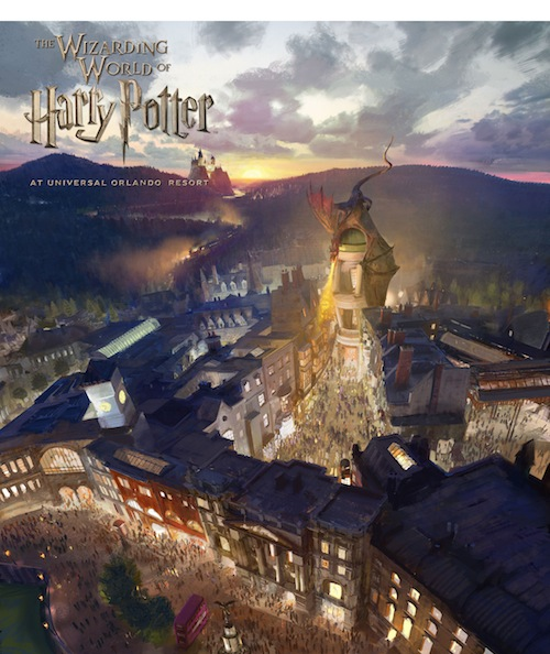 The Wizarding World of Harry Potter - Diagon Alley will come to life at Universal Orlando Resort in 2014. Diagon Alley and 'London' will be located within Universal Studios Florida. PRNewsFoto/Universal Orlando Resort