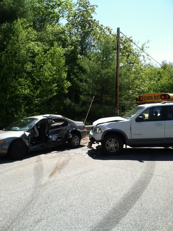 A Waterboro man died in this crash in Limington on Tuesday.