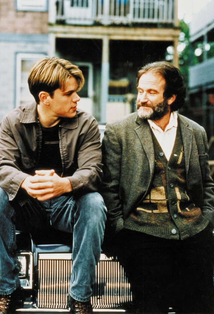 "Bender has producing credits on ""Good Will Hunting"" (with Matt Damon and Robin Williams)."