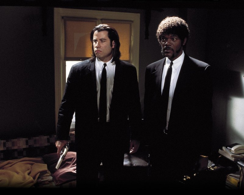 "Lawrence Bender has producing credits on the Quentin Tarantino film ""Pulp Fiction"" (with John Travolta and Samuel L. Jackson)."