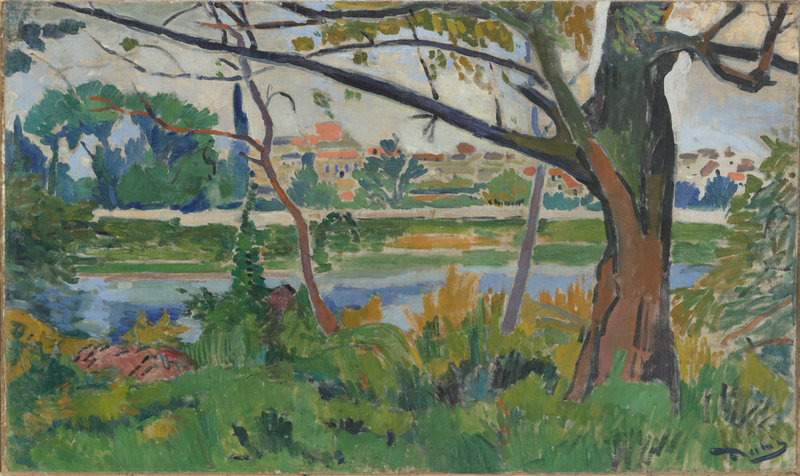 "Andre Derain's oil on canvas ""The Seine at Chatou,"" 1906"