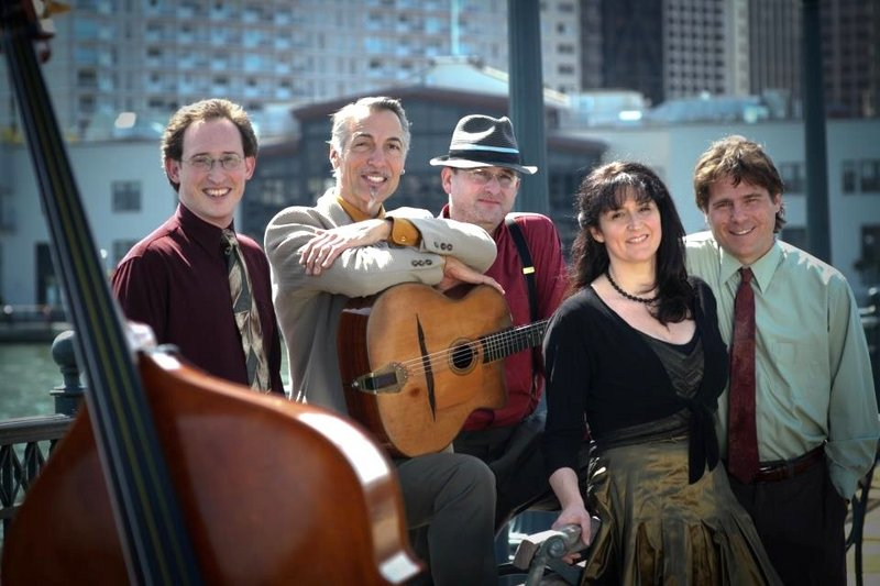 "Hot Club celebrates the music of Django Reinhardt and Stephane Grappelli in ""Cinema Vivant."""
