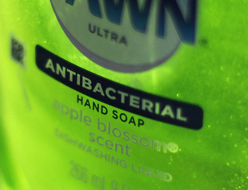 Triclosan, an ingredient in cleaners like this bottle of Dawn, is found in an estimated 75 percent of anti-bacterial liquid soaps.