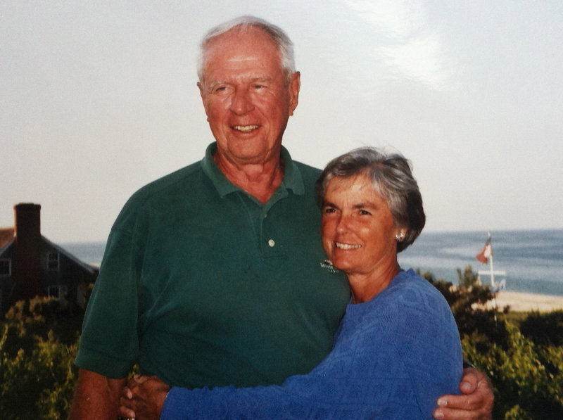 "Dr. Howard ""Randy"" Deming taught his wife, Ann, to golf, and they participated in tournaments along the East Coast."