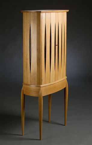Cabinetry by Center for Furniture Craftsmanship student Judy Bonzi