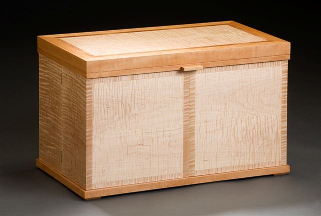 Cabinetry by Center for Furniture Craftsmanship student Mark Galipeau