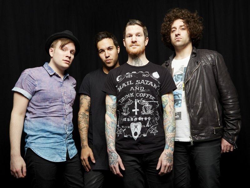 The pop/punk band Fall Out Boy will be at the House of Blues in Boston on May 26.