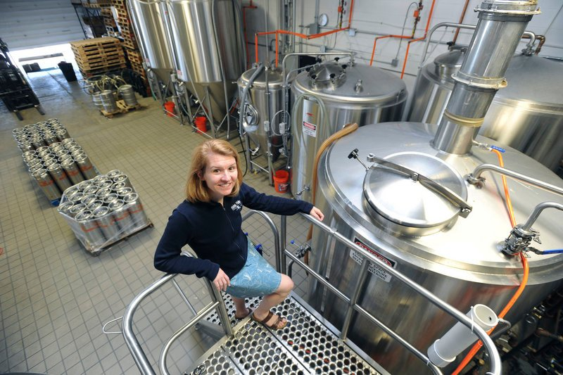 Heather Sanborn of Rising Tide Brewery says the company is interested in hosting musical events, poetry readings and art shows at its East Bayside warehouse.