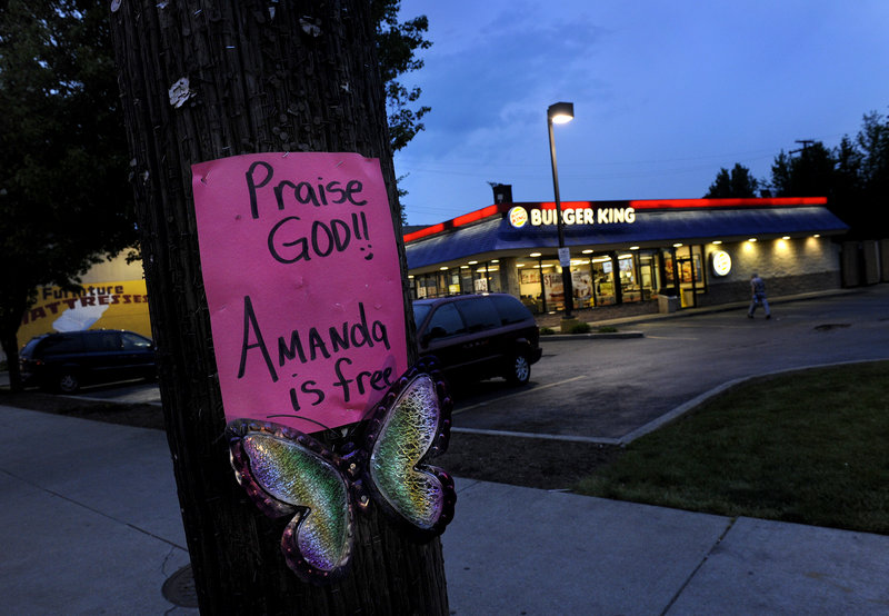 Cleveland resident Amanda Berry was walking home from work at this Burger King when she was kidnapped in April 2003, on the day before her 17th birthday.