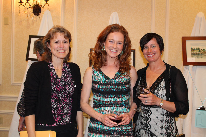 Tina Keene, left, with Jaime Clark and Chessell McGee of Keller Williams.