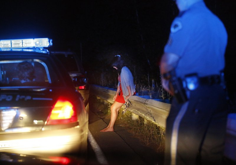 OUI incidents like this one in 2012 in Scarborough could be more frequent if communities adopt a National Transportation Safety Board recommendation to lower the drunk driving threshold to .05 percent blood-alcohol content.
