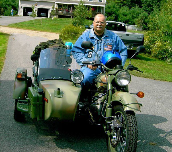 Roland Pelletier Jr., a member of the Patriot Guard Riders club, often rode his motorcycle in benefit events around the Biddeford/Saco area.