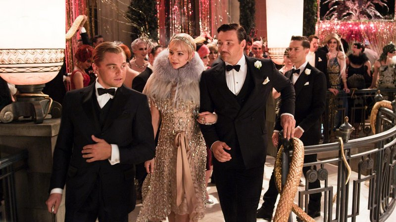 "Leonardo DiCaprio, Carey Mulligan and Joel Edgerton in a scene from ""The Great Gatsby."""